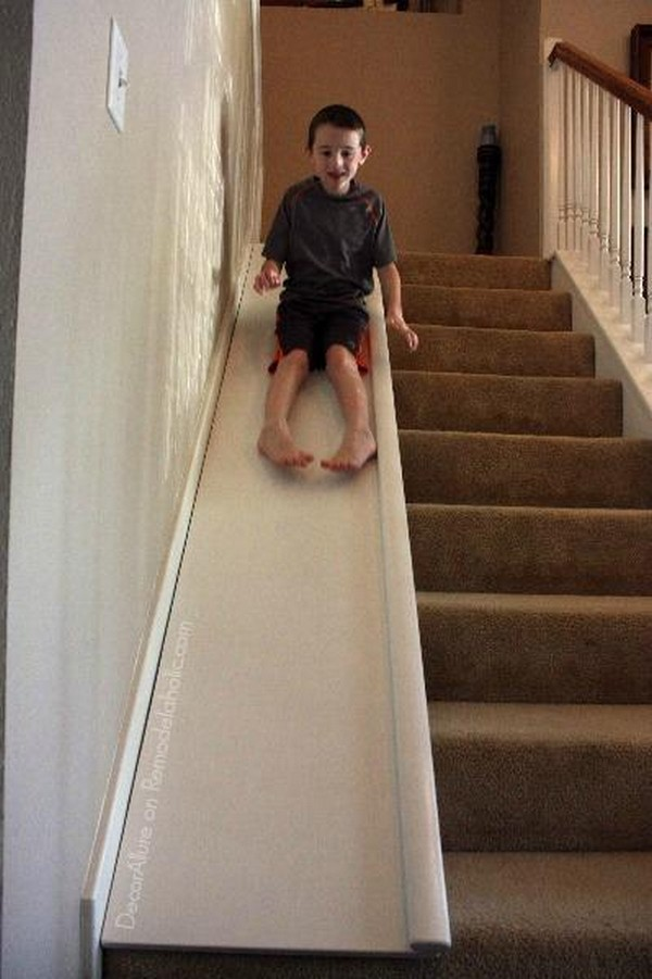 How To Add A Slide To Your Stairs