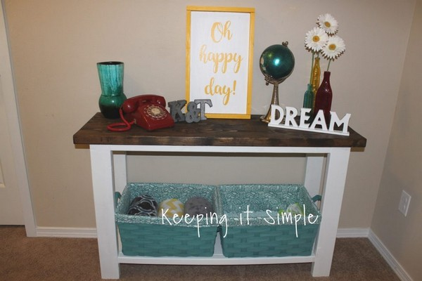 Sofa Table For Only $30