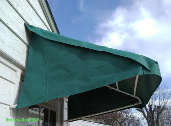 DIY Awning For Front Door