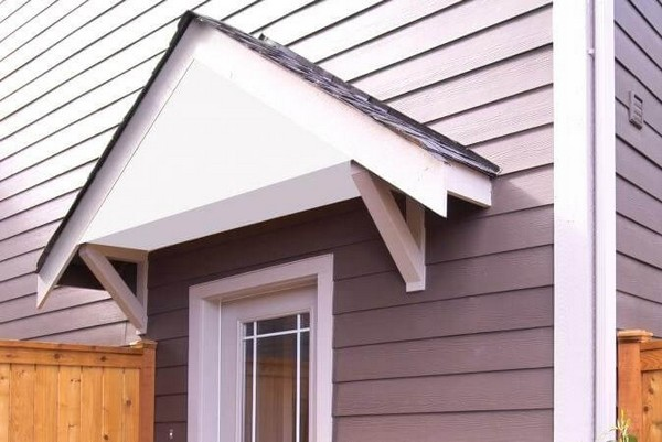 How To Build A Awning Over A Door