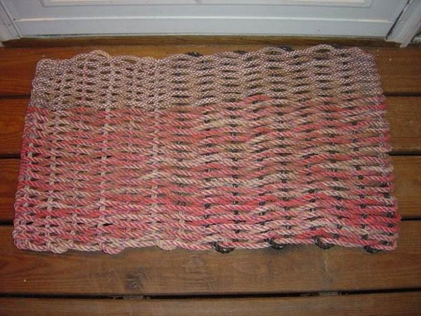 How To Make A Doormat Out Of Recycled Rope