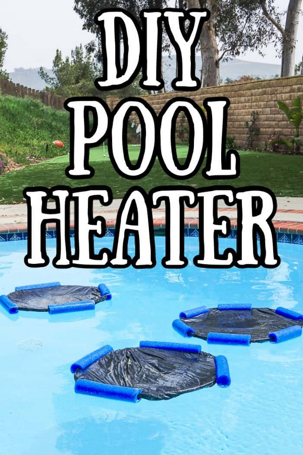 Solar Collecting DIY Heater For Pool
