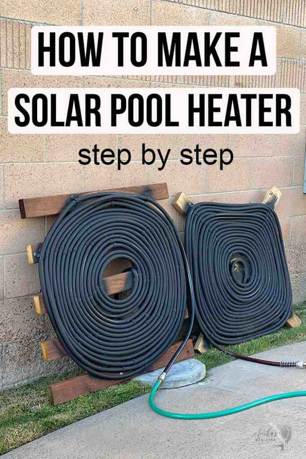 Solar Pool Heater To Make In A Weekend