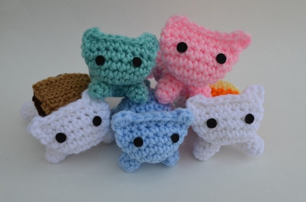 Simple Stackable Cats